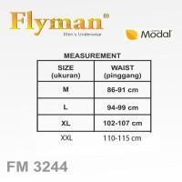 Paling Murah Flyman Boxer Pria Dewasa Celana Dalam Pria Fm 3244 1