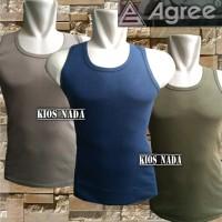 Terbaru Kaos Dalam Singlet Body Fit - Agree