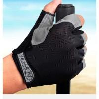 Harga termurah terbaru huwai sarung tangan half finger sepeda gym | antitipu.com