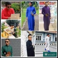 New Terbaik Jubah Gamis Pria Razzaqu Baju Koko Slimfit Soft Elrah