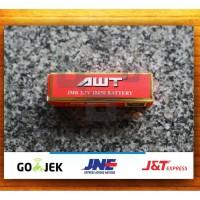 Baterai vape AWT - 3000 mAH - battery batre vapor - 3.7 V 3000 MAH 40A