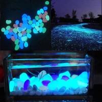 dekorasi akuarium batu luminous glow in the dark PET601