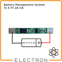 BMS 1S Battery Protection Charging Board 1S 18650 3.7V 4.2V 2A 3A