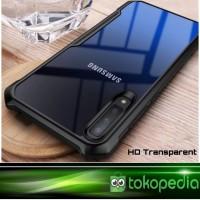 Case Samsung galaxy A50 Premium Transparan Hardcase