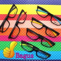 Kacamata / Bingkai kacamata A2 - Hitam