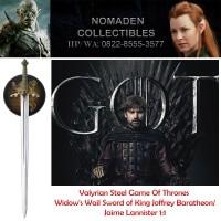Valyrian Steel Game Of Thrones Widow's Wail Sword of Jaime Lannister