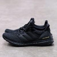 Adidas Ultra Boost 4.0 Triple Black Gold