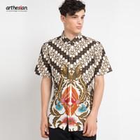 [Arthesian] Kemeja Batik Pria - Mahirza Batik Printing