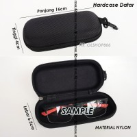 Safety Eyewear Hardcase Pelindung Tempat Kacamata Pouch Case Box MTB 4