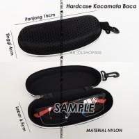 Safety Eyewear Hardcase Pelindung Tempat Kacamata Pouch Case Box MTB 1
