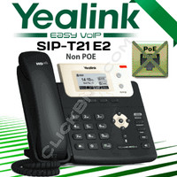 Yealink SIP-T21 E2 Entry Level IP Phone [non PoE]