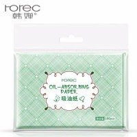 rorec facial absorbing paper oil 100pcs deep cleansing blackhead