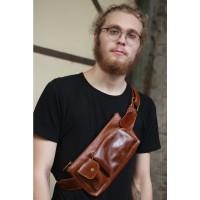 Waist Bag Swiss Havana - Kenes Leather