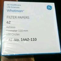 Whatman 1442-110 Filter Paper no. 42 dia 110 mm Kertas Big Deals