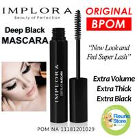 IMPLORA Deep Black Mascara Original BPOM