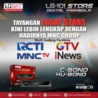 Receiver Lgsat Star Bonus ch premium palapa measat 3