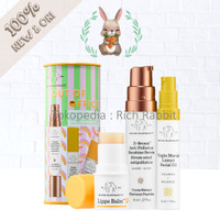 Drunk Elephant Set Out of Office Serum Virgin Marula Lippe Balm