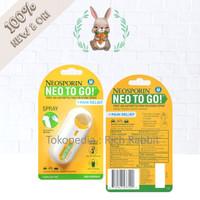 Neosporin Pain Relief Neo to Go Go! Semprotan Spray Luka Sakit 26 Oz