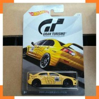 Diecast Mobil Hotwheels Gran Turismo Mitsubishi 2008 Lancer Evolution