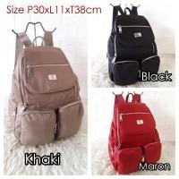 KL301 Tas Ransel Wanita Import Backpack KLUM Super Quality