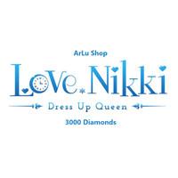 3.000 Diamonds Love Nikki