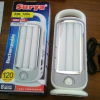 Emergency Lampu Light Surya SQL 120L Frosted Rechargeable