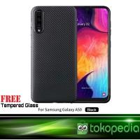 Case Samsung Galaxy A50 Premium Carbon Slim Softcase