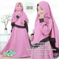 Baju Gamis Anak Syari Moscrepe Rohiya Kids Dress Muslim Terbaru MURAH