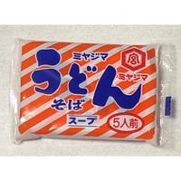 Sup Mie Udon dan Mie Soba Soup Miyajima untuk 5 orang/mangkok