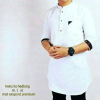 Harga fashion baju busana muslim pria baju koko muslim pria katun abu | antitipu.com
