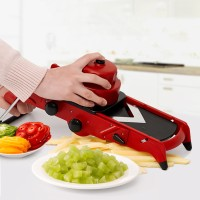 New Creative Red Slicer Vegetable Cutter Fruit Cutter With