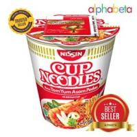 Nissin Cup Noodles Rasa Tom Yum Asam Pedas - 75 gram Mie instant