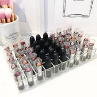 Tempat lipstik acrylic 50kotak display lipstik akrilik rak lipstik akr