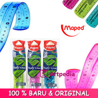 Maped Twist'n Flex Ruler 30 cm / Penggaris Flexibel 30 cm