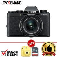 Fujifilm X-T100 XT100 Kit 15-45mm GARANSI RESMI