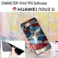 Softcase HUAWEI Nova 3i - High Quality CHARACTER TPU