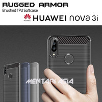 Softcase HUAWEI Nova 3i - RUGGED ARMOR Brushed TPU