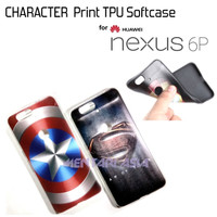 Softcase NEXUS 6P - High Quality CHARACTER TPU