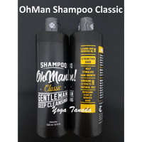 OH MAN MAN! OHMAN CLASSIC SHAMPOO GENTLEMAN DEEP CLEANSING 320 ML