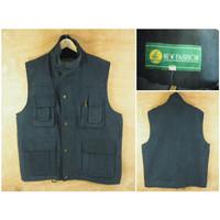 Rompi Vest New Fashion Navy Original