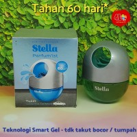 Parfum Pengharum Mobil Gel Stella Parfum'ist Twist Cool Surf Blue