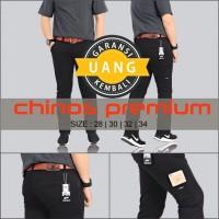 Celana panjang Pria - Celana chinos hitam