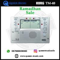 ramadhan sale korg tuner metronome TM-40