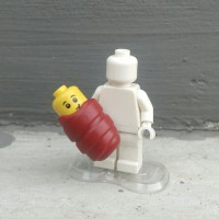 LEGO 3rd party accs, Brick Warriors Babies in Wrap ver.2