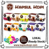 Harga promo kapsulkopi nescafe dolce gusto kapsul lokal semua | antitipu.com