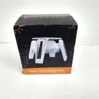 Solar rotary display stand pajangan putar