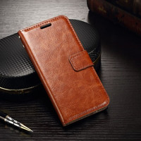 Samsung a20 / a30 flip wallet leather