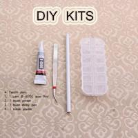 Paket DIY Kits Perlengkapan Craft Lem B6000 + Kotak Plastik