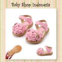 Sepatu Sandal Anak Import Murah Sepatu Sandal Anak Cewek Flower Pink