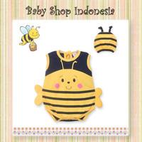 Jumpsuit Bayi Murah Kostum Lebah Baju Bayi Lebah Lucu Jumpsuit Bayi